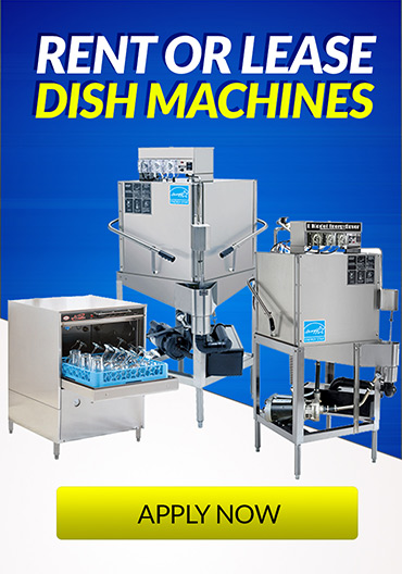 Rent or Lease Dish Machines
